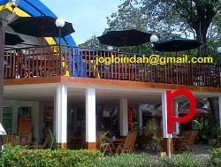 Set Meja Payung Cafe untuk Indomaret Point Pasar Seni Ancol Jakarta