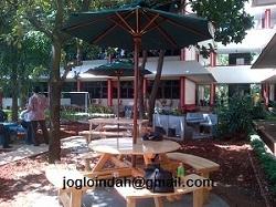 Payung Taman di Universitas Pancasila Lenteng Agung Jakarta Selatan
