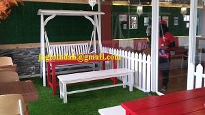 Ayunan Taman Kayu Jati untuk outlet baru Sweet Hut Resto di Gading Serpong Tangerang