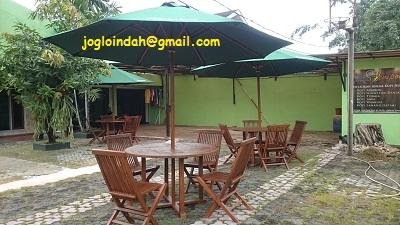 Meja Payung untuk ICMPrima Group Cipinang Jakarta Timur