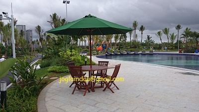Meja Payung Sky House BSD+ Serpong Tangerang
