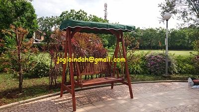 Ayunan Kayu Jati untuk Apartemen Gardenia Boulevard Pejaten Jakarta Selatan