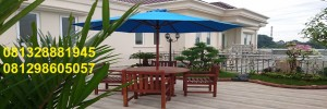 set meja payung